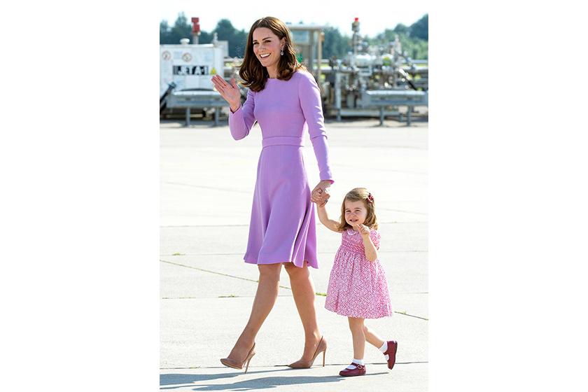 Kate Middleton style Emilia Wickstead dress