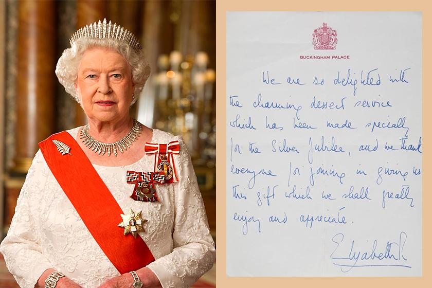 royal family handwriting