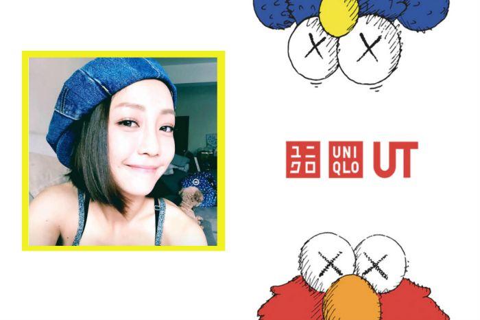 女生怎麼駕馭 Uniqlo x KAWS?來看看這位「台灣酷甜心」的穿搭示範!