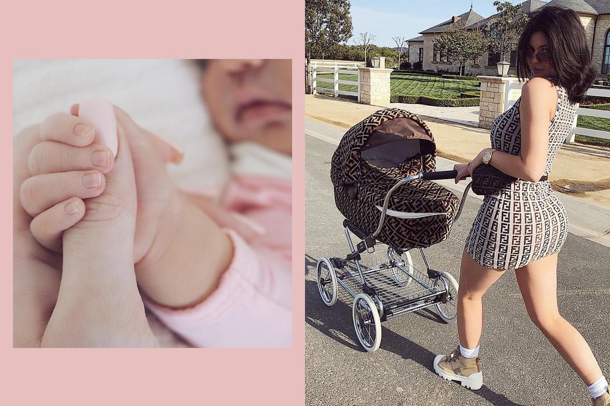 Kylie Jenner delete Stormi webster daughter photos instagram