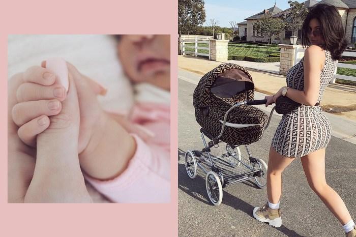 Kylie 將 Stormi 照片刪光:「從現在起,我不會再上傳女兒的照片」
