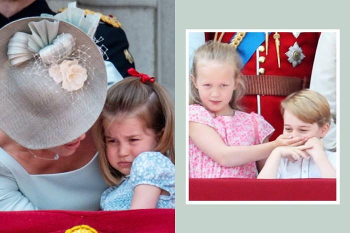 一反常態的搶鏡:一向成熟淡定的夏洛特公主為何突然大哭「扭計」?