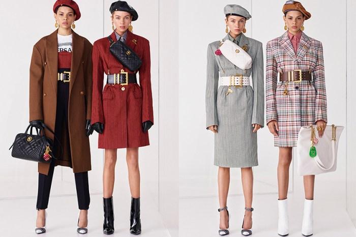 復古風也有新鮮感:從 Versace 2019 早春系列發掘來季大熱單品!