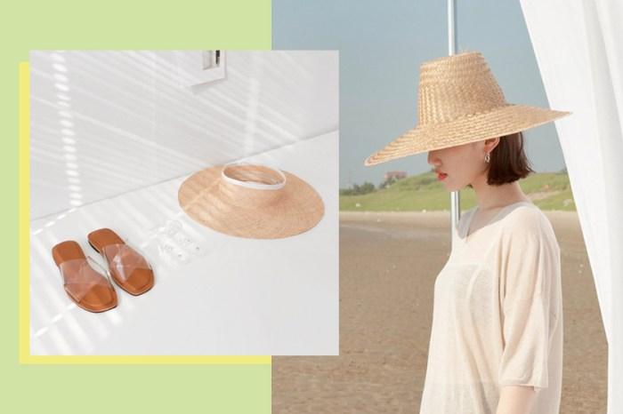 今夏不只有大草帽:你一定要知道這些好駕馭、韓國時下最時髦的款式!