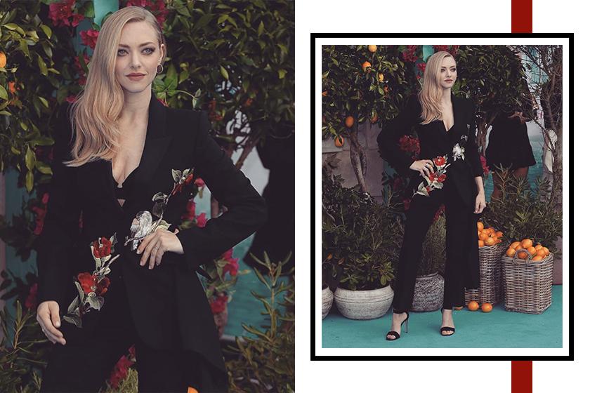 Amanda Seyfried sexy suit Mamma Mia!: Here We Go Again