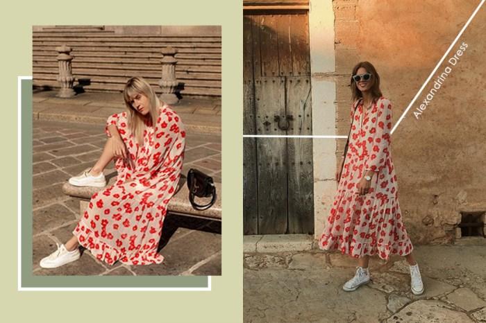 世界各地的時尚博客都穿同一件「印花長裙」,來看她們如何駕馭吧!