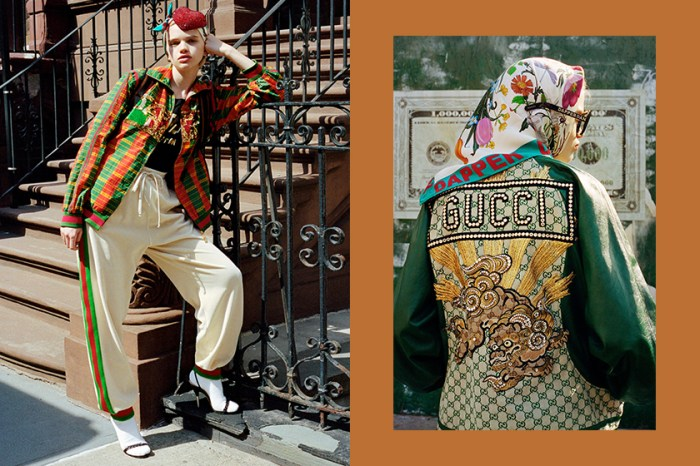 最嘻哈的時髦復古:Gucci X Dapper Dan 秋冬聯乘系列,穿上高筒襪回到八十年代!