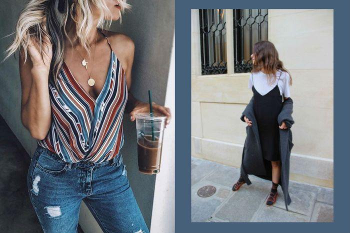 再熱都能優雅出街?時尚女生的 4 大細肩帶背心造型靈感!
