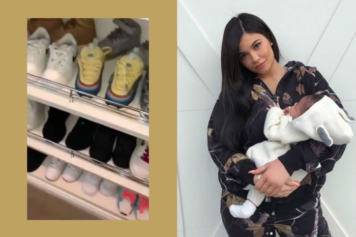 打開 Kylie Jenner 女兒的鞋櫃 ,擁有的鞋子可能比你我一輩子的都還要多!