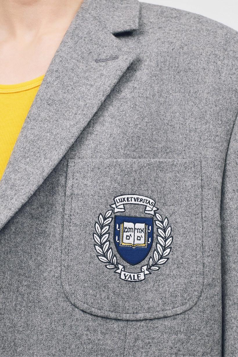 Calvin klein raf simons resort 2019 lookbook college