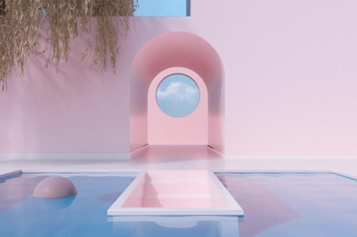 Alexis Christodoulou 的 3D 超現實建築空間設計
