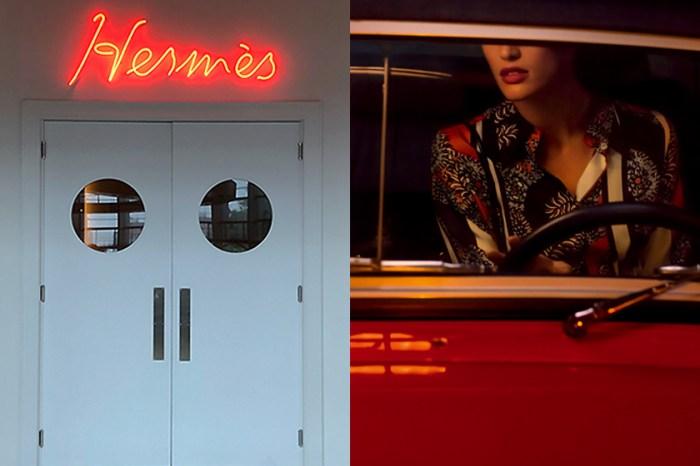 歡迎光臨 Hermès 片廠:邀請參觀者入鏡,體驗電影展覽《彼女とAvec Elle》