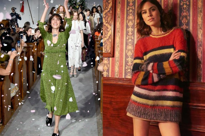 Alexa Chung 設計之路的里程碑!自家品牌將在 2019 年倫敦時裝展登場