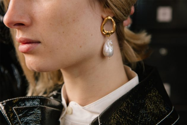 Alighieri Independent Jewellery Pearl Earrings