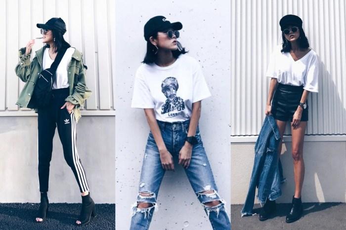 為何能把白 Tee 牛仔褲穿得如此有型?必追日本時裝達人 Alisa 的不經意穿搭教學
