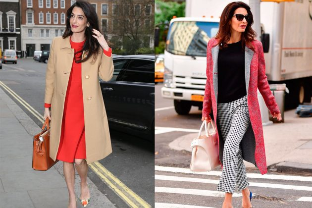 Amal Clooney Colourful Look
