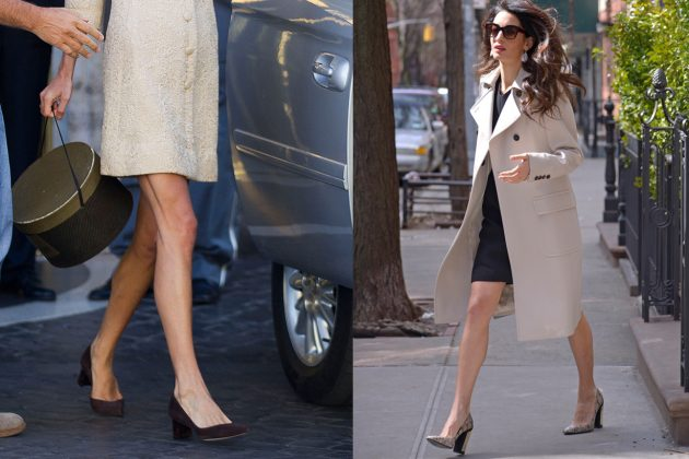 Amal Clooney High Heels Shoes