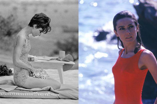 Audrey Hepburn Swimsuit