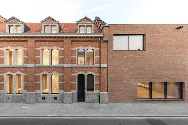 Belgium New Music School Library Modern Style Architecture Buliding