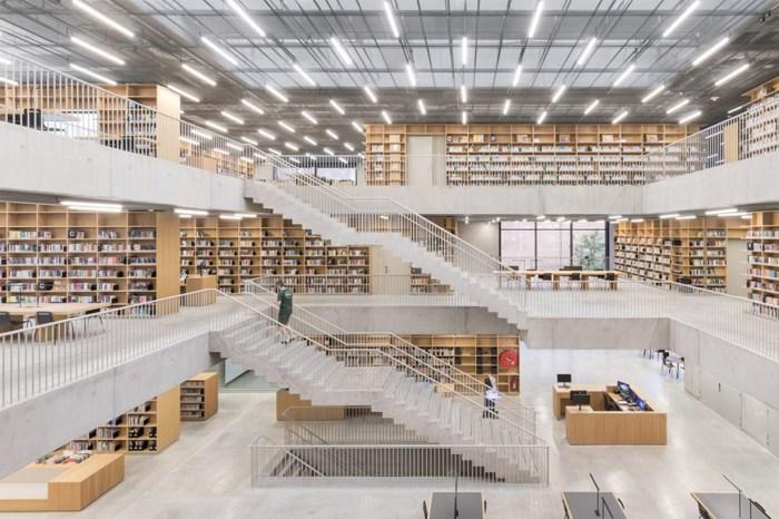 比利時古老校舍大改造:新落成的音樂學校和圖書館,定會令學生流連忘返!