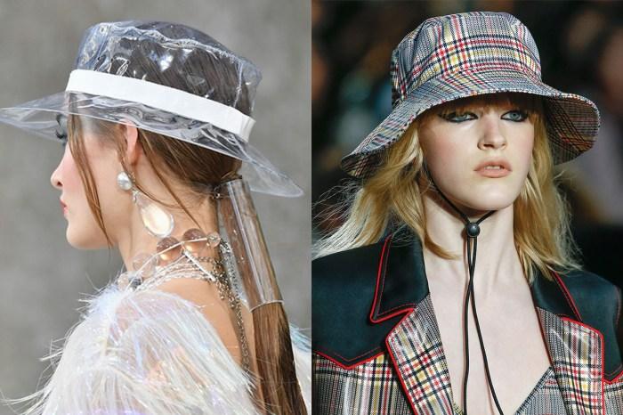 一百年前誕生的桶帽,就是今夏不可或缺的時尚配飾!
