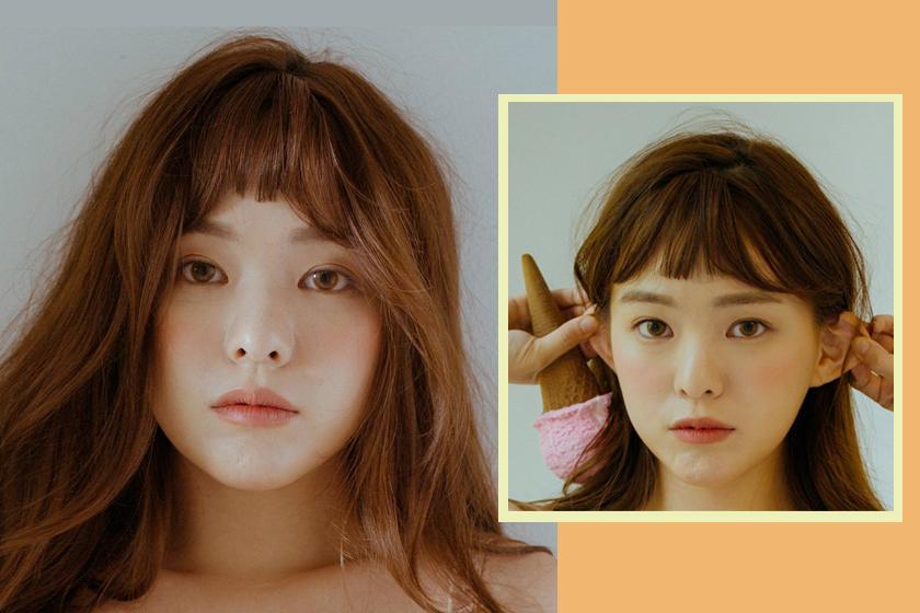 choppy bangs hairstyles trends korean girl twice