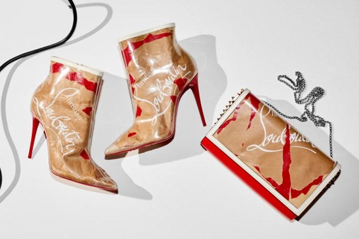 Christian Louboutin 用他的巧手,將牛皮紙設計成價值不菲的高跟鞋