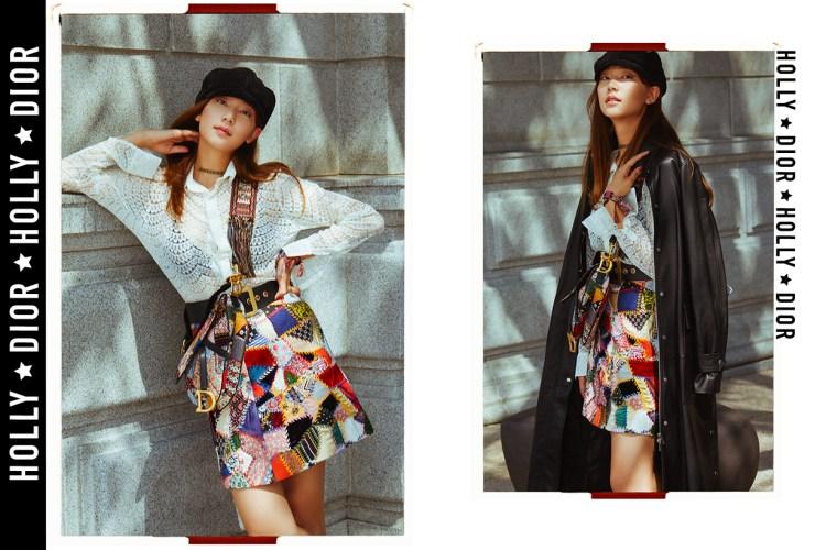 韓國人氣模特兒 Holly 分享獨門「手袋經」,原來 Dior Saddle Bag 跟她早有淵源!
