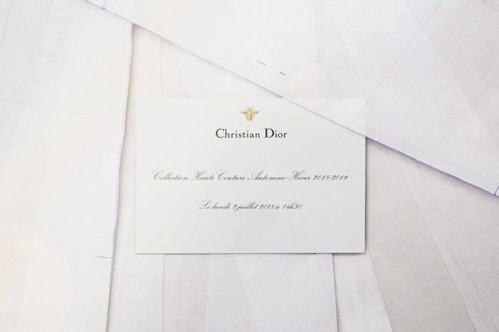 直播 Dior Haute Couture FW18 時裝騷!