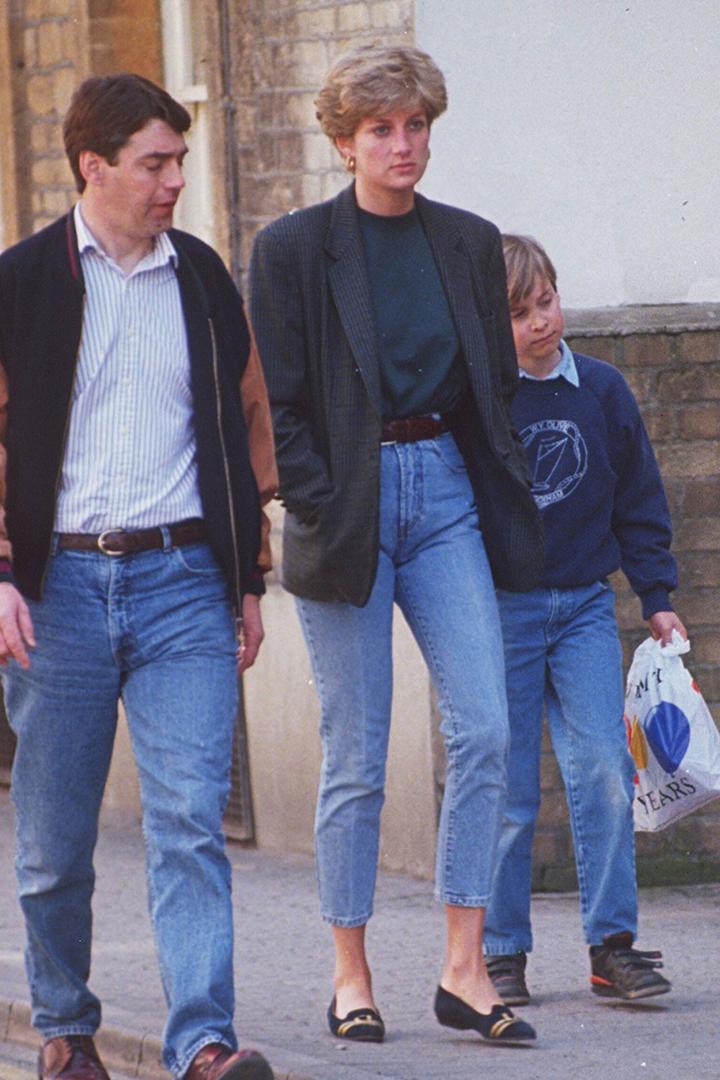 Princess Diana's Denim Look