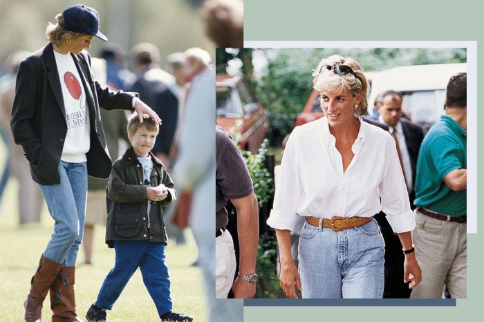 皇室風格的 Denim Look:回顧戴安娜王妃最美的牛仔褲時刻