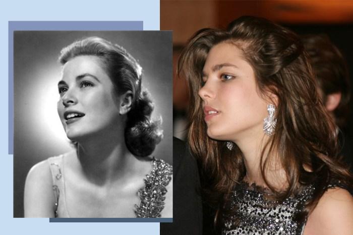 延續王妃 Grace Kelly 之美!摩納哥公主 Charlotte Casiraghi 復刻外婆的經典造型