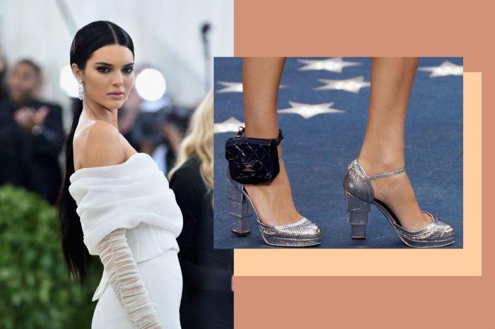 會是下一個 It Bag 嗎?Kendall Jenner 這個 Chanel 腳踝手袋引起網民爭論!