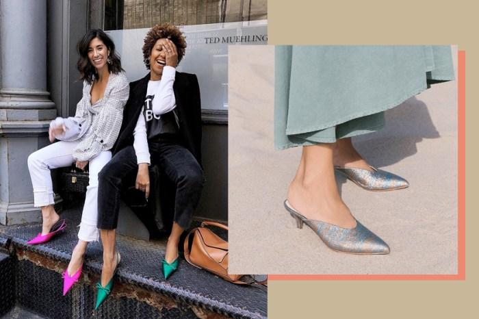 今夏買 Mules 要記得挑選這個款式,不但時髦也讓腿看起來更細!
