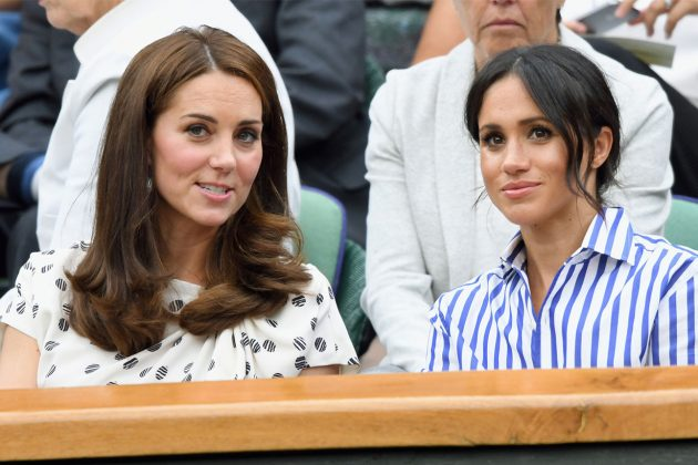 British Royal Kate Meghan Wimbledon