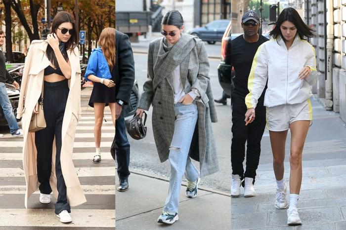 從都市女郎到帥氣運動風,只需看 Kendall Jenner 這 6 個球鞋造型!