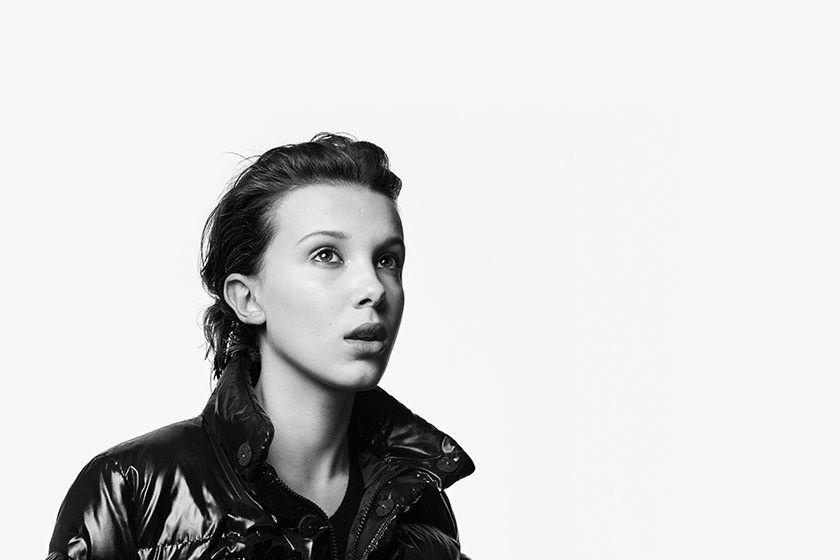moncler millie bobby brown 19 Ambassador beyond campaign craig mcdean