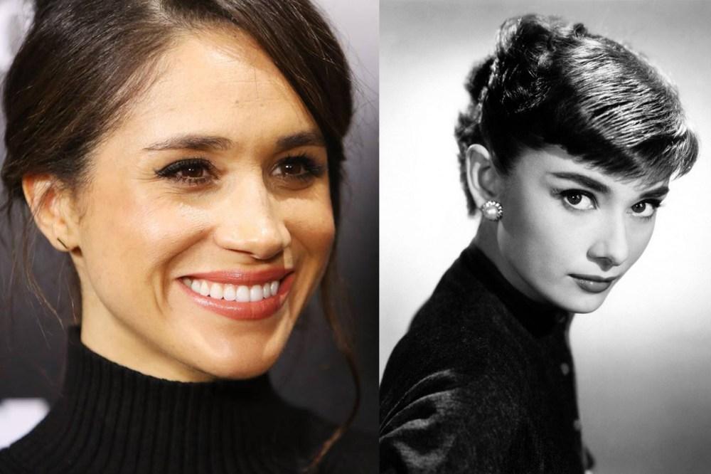 Meghan Markle Audrey Hepburn Eyebrow Makeup