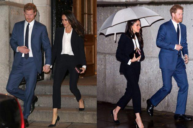 Meghan Alexander McQueen Pants Suit Royal Rules