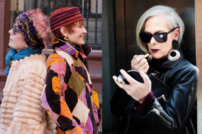 老去又何妨?10 位奶奶級時尚博主,打扮就是她們的終身事業!