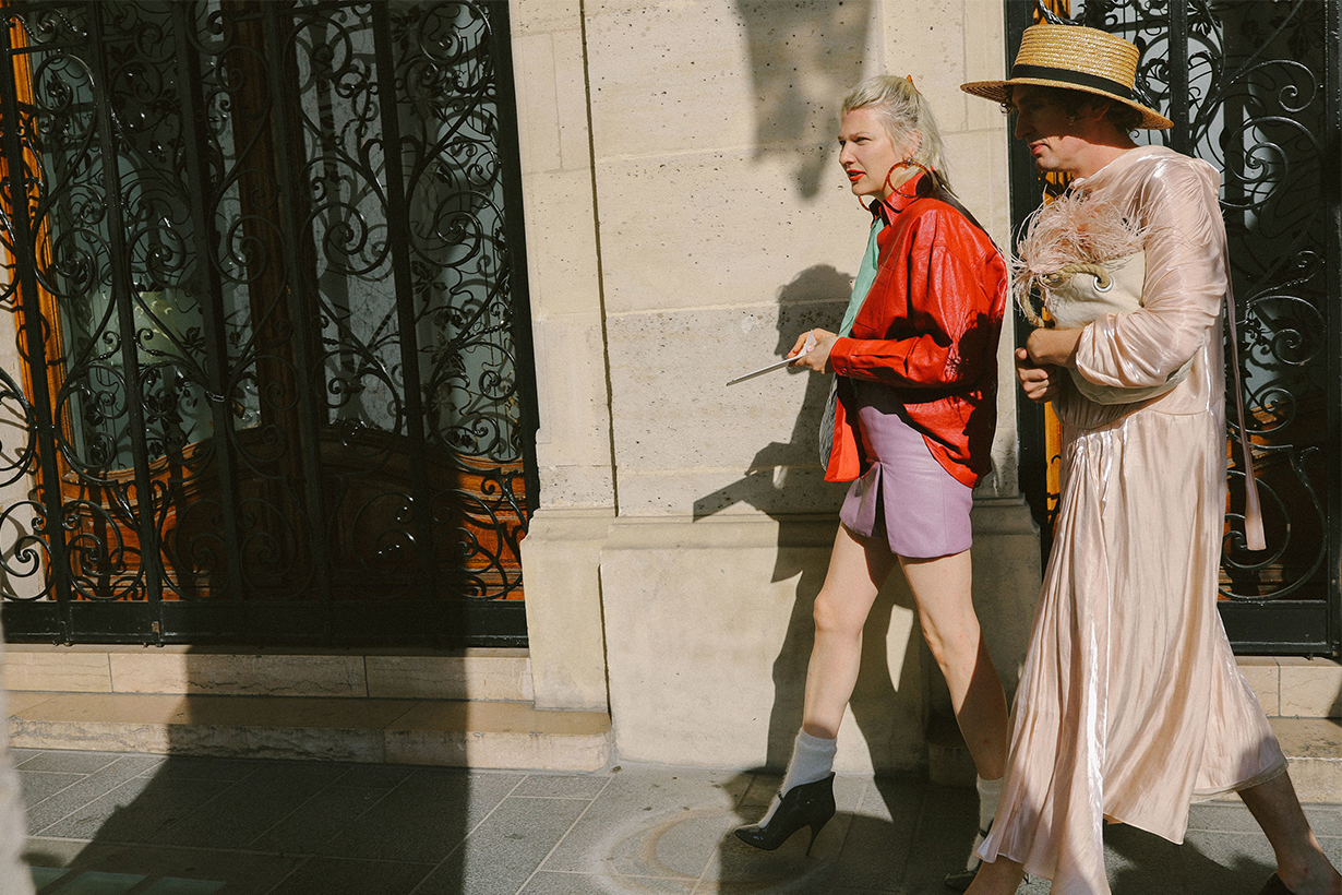 Phil Oh Street Style Snaps From Fall 2018 Paris Haute Couture Week