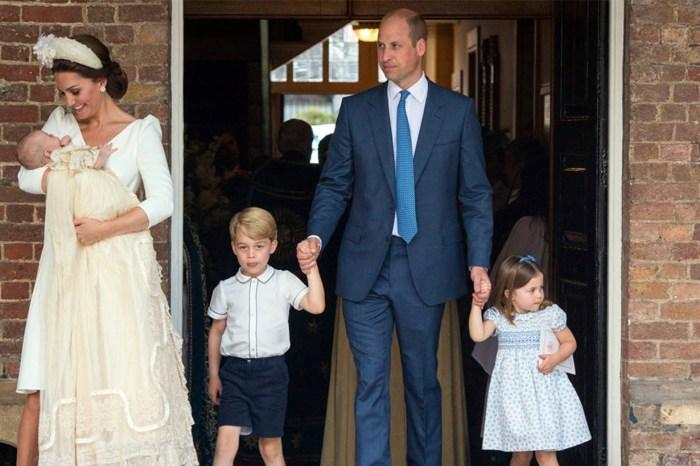 未來的皇室禮儀典範!夏洛特小公主在弟弟受洗禮上,表現再次令人讚不絕口!