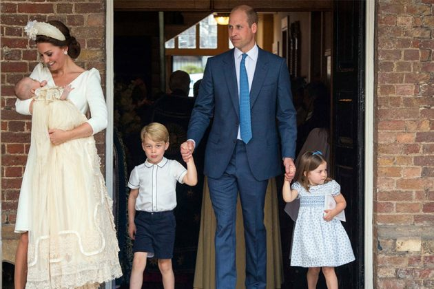 Prince Louis's Christening Royal Family