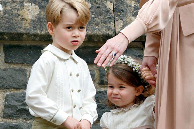 Princess Charlotte Prince George Royal Wedding British
