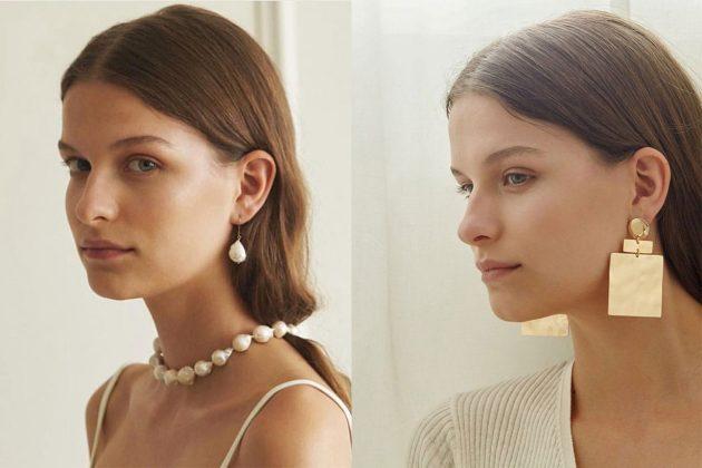 Reliquia Jewellery Brand Necklace Earrings