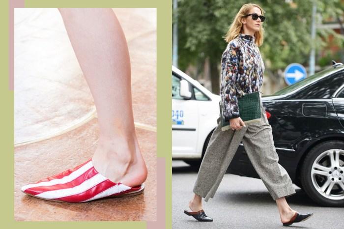 標準高跟鞋的時代過去了,潮人都直接穿拖鞋出門了!