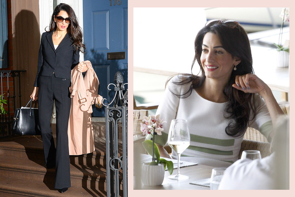 Amal Clooney Work Outfit