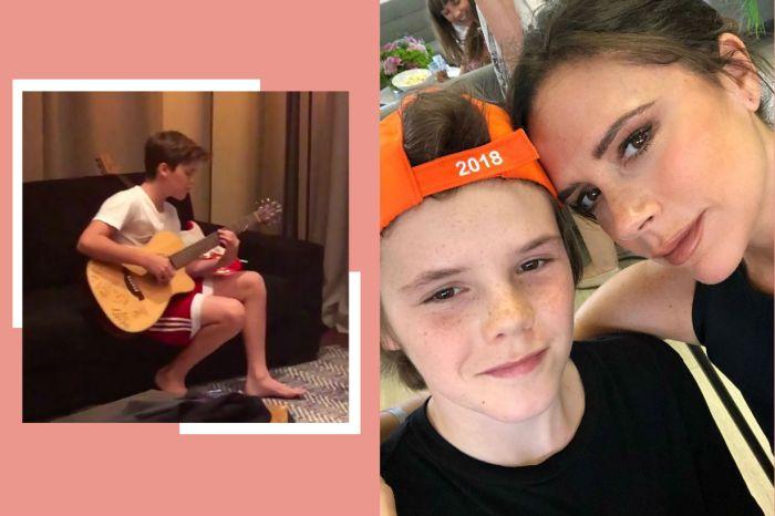 Victoria Beckham 偷錄兒子 Cruz Beckham 房內練唱 po 網…粉絲全暴動了!