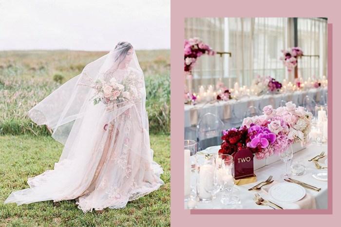 要過時了!新娘們注意,婚禮上不要再使用這些顏色配搭了!