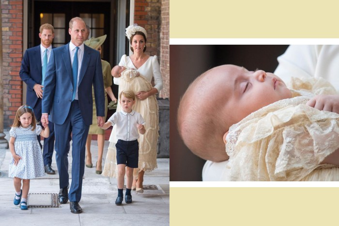關於路易王子受洗禮的一切,這裏是最詳細的整合!
